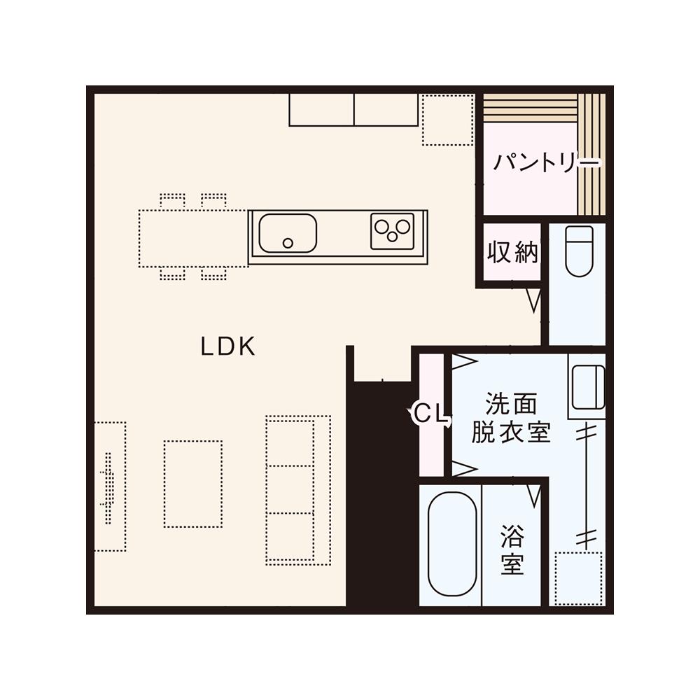 南入りプラン / 2nd.Floor plan