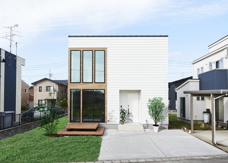 【建売/販売中】新潟市西区内野モデルハウス|リゾートホテルのようなコンパクトハウス【完全予約制】
